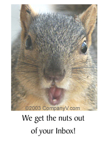 We Get The Nuts Out Of Your IN Box!